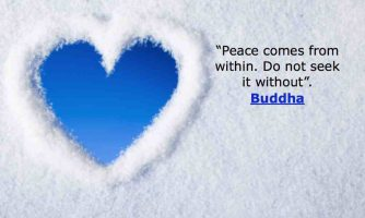 100 Most Inspirational Peace Quotes and Short Status About Life