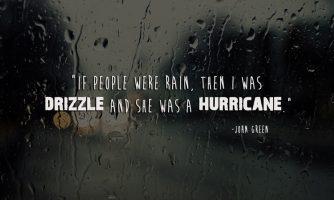 Rain Status: Which is makes a heart GO Romantic