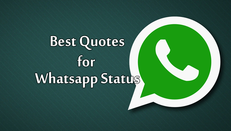 Short Quotes For Whatsapp Status