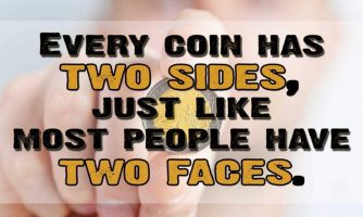 Two Faced People Status, Messages and Short Two Faced People Quotes