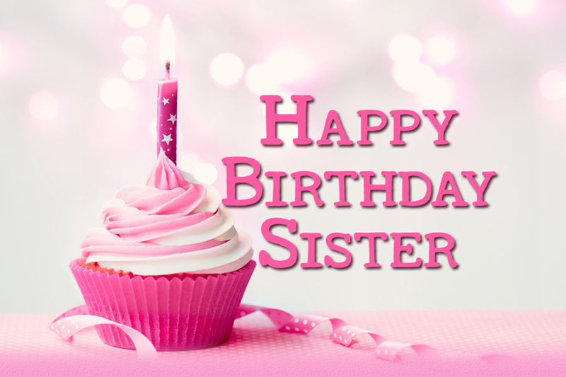 Happy Birthday Status For Sister Messages Quotes Wishes