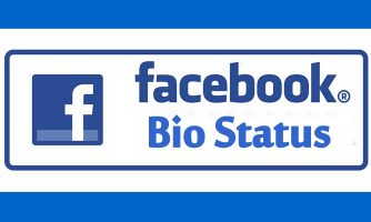 Facebook Bio Status, About Me & Intro Quotes – Inspiring, Funny & Clever