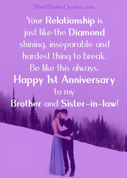 1st-Anniversary-Status-Wishes-for-Brother-and-Sister-in-law
