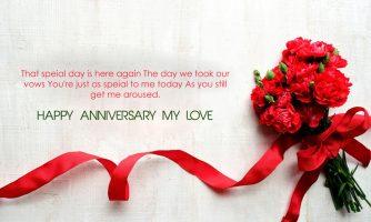 Cute Happy Anniversary Status for Whatsapp, Facebook