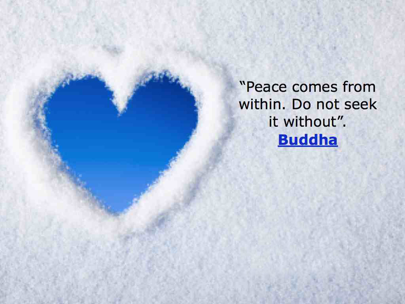 100 Most Inspirational Peace Quotes And Short Status About