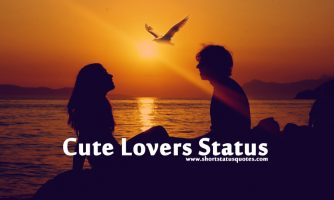 Cute Romantic Lovers Status For Lovely Couple
