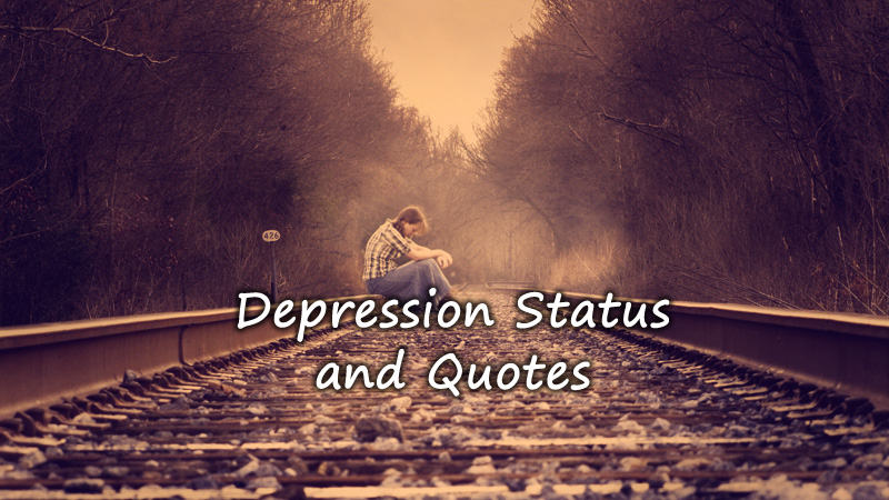 Depression Status For Whatsapp Short Depression Quotes For