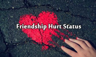 Sad Friendship Status & Short Quotes On Broken Friendship