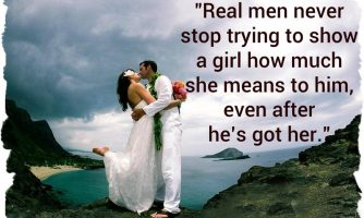 Real Man Status, Messages & Short Real Man Quotes – Being a Real Man