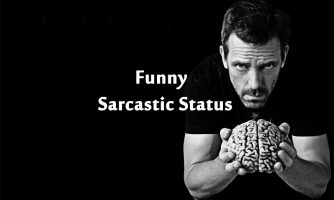 Hilarious Sarcastic Status, Messages and Short Sarcastic Quotes