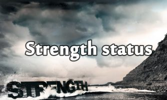 Motivational Strength Status and Short Quotes about Strength