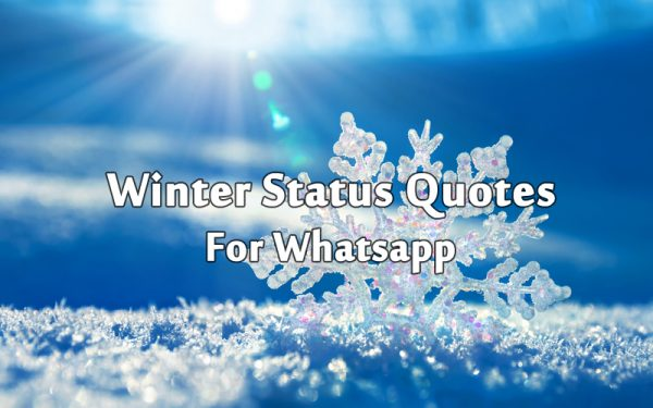 Best Winter Status, Messages and Short Winter Quotes