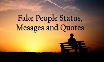Fake People Status, Messages and Quotes for Whatsapp and Facebook