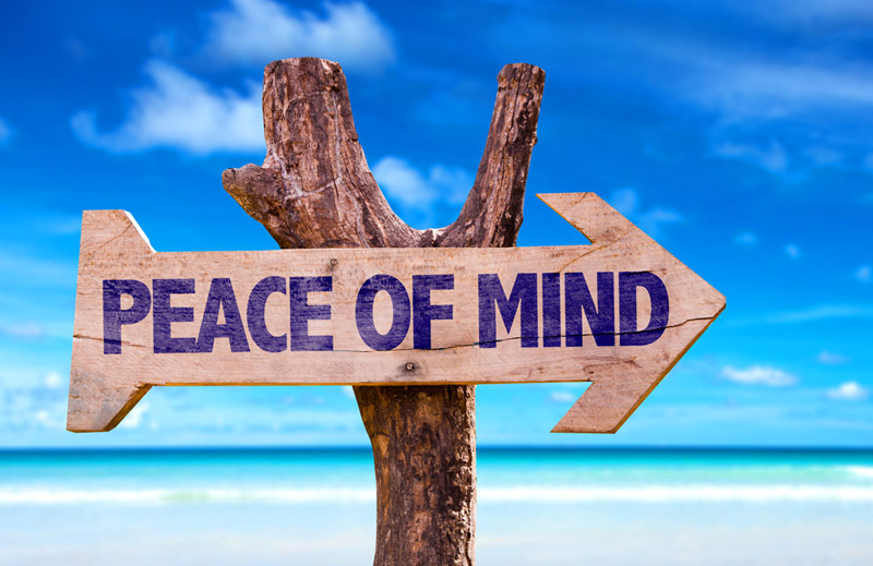 Image result for peace of mind