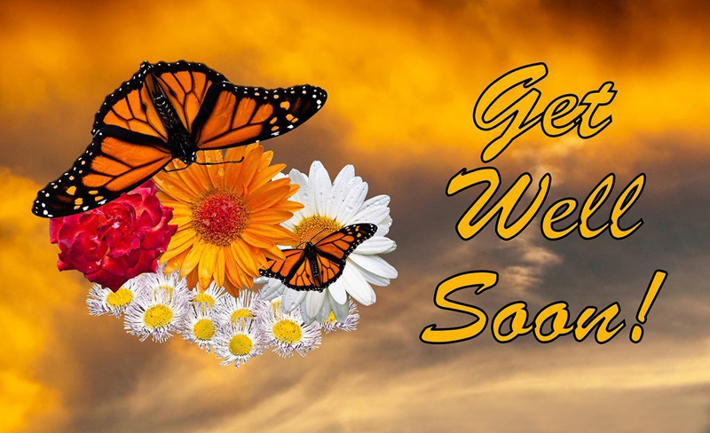 get well soon status messages and wishes for a sick friend
