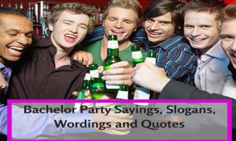 Bachelor Party Status, Messages, Slogans & Invitations