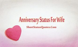 Anniversary Status for Wife – Anniversary Wishes & Captions