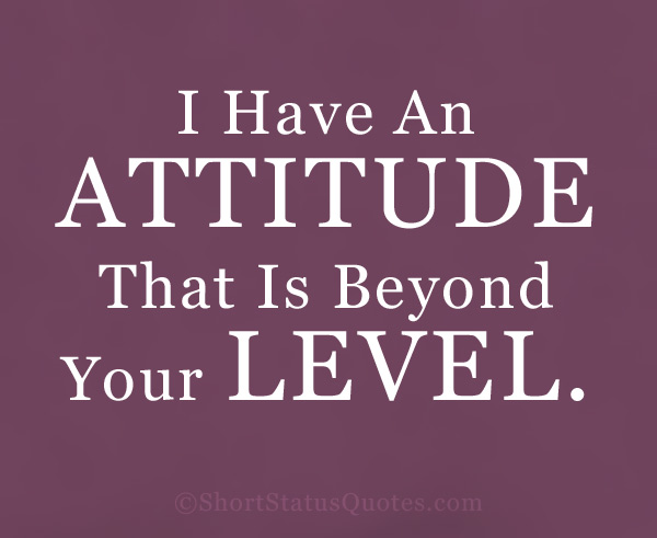 Best Attitude Status for Boys
