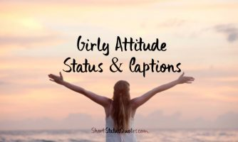 All About Attitude Statuses Short Quotes And Messages