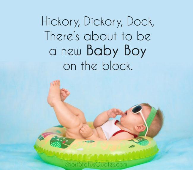 Baby Shower Captions for Baby Boy