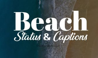 Beach Status – Beach Captions & Short Beach Quotes