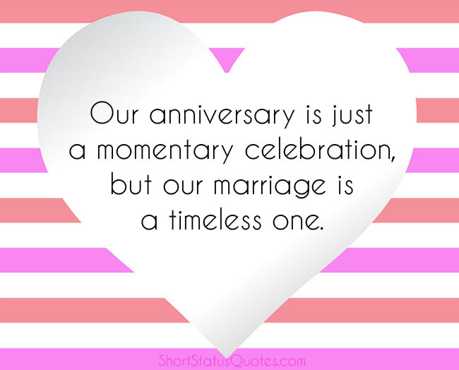 Wedding Anniversary Captions