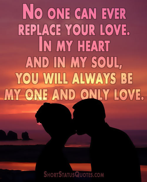 Love Status For Girlfriend Best Sweet And Romantic Best Love One And Only Quote For Her
