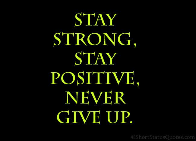 Short Positive Attitude Status