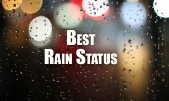Rain Status for Facebook, Whatsapp & Insta Caption for Rainy Day