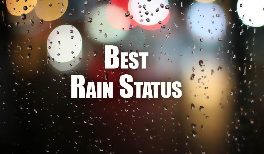 Rain Status For Facebook Whatsapp Insta Caption For Rainy Day