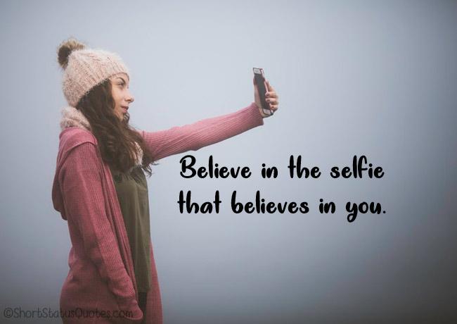 Selfie Captions for Facebook Profile