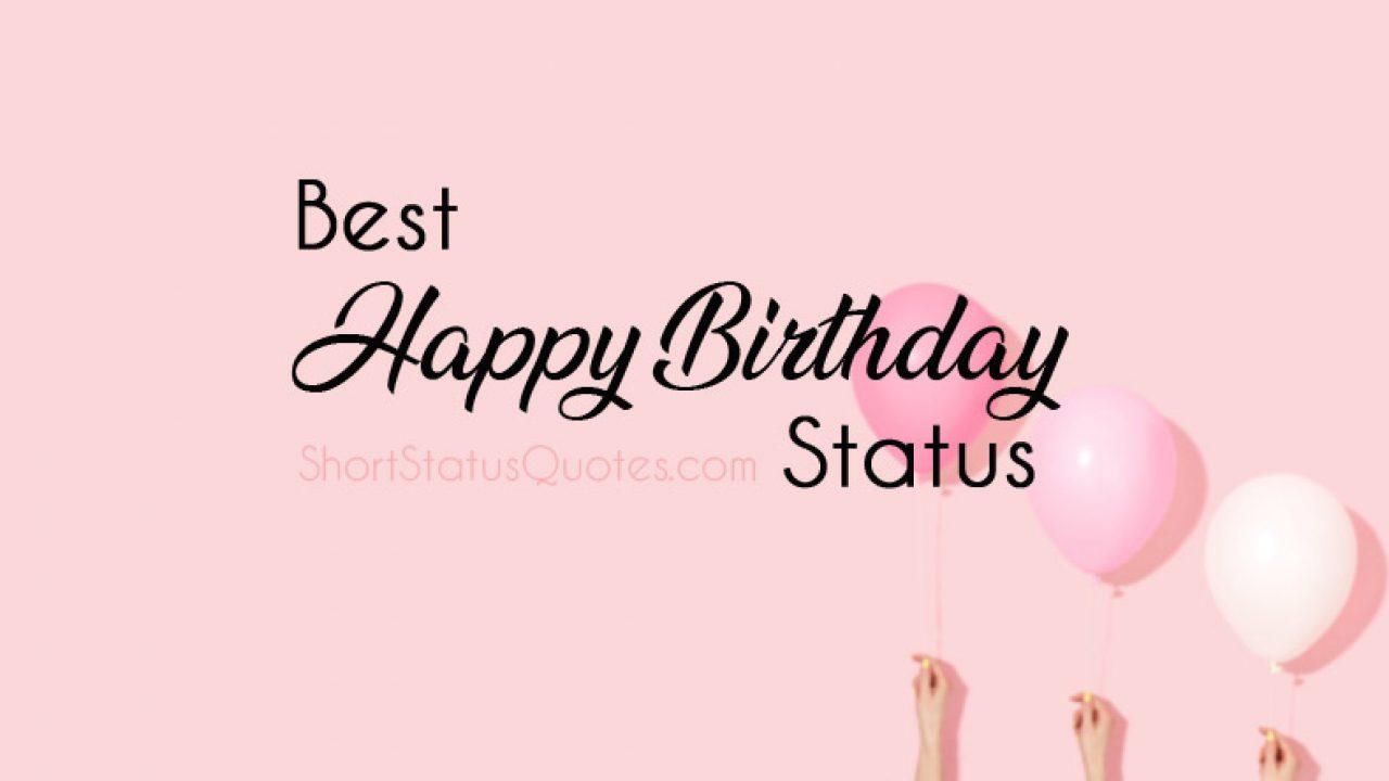 birthday status happy birthday captions and texts
