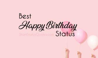 199+ Birthday Status : Happy Birthday Captions