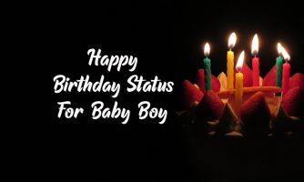 150+ [Best] Birthday Status, Wishes & Messages for Baby Boy