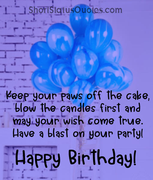 Happy Birthday Baby Boy Quotes: Birthday Status For Little Baby Boy