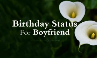 125+ Birthday Status for Boyfriend – Romantic Messages & Greetings