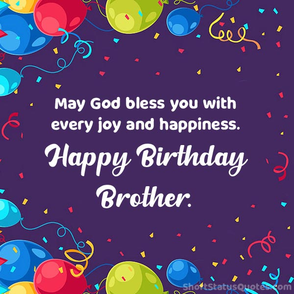 Caption for Brother Birthday