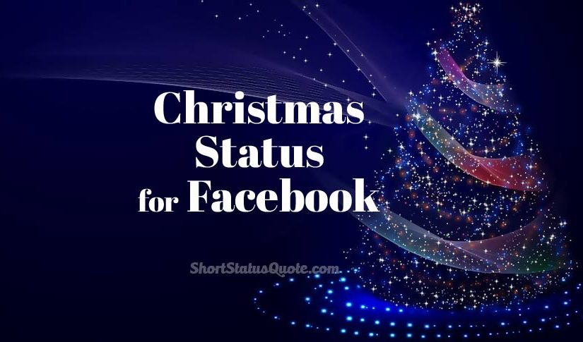 Christmas Status for Facebook Captions & Wishes Messages