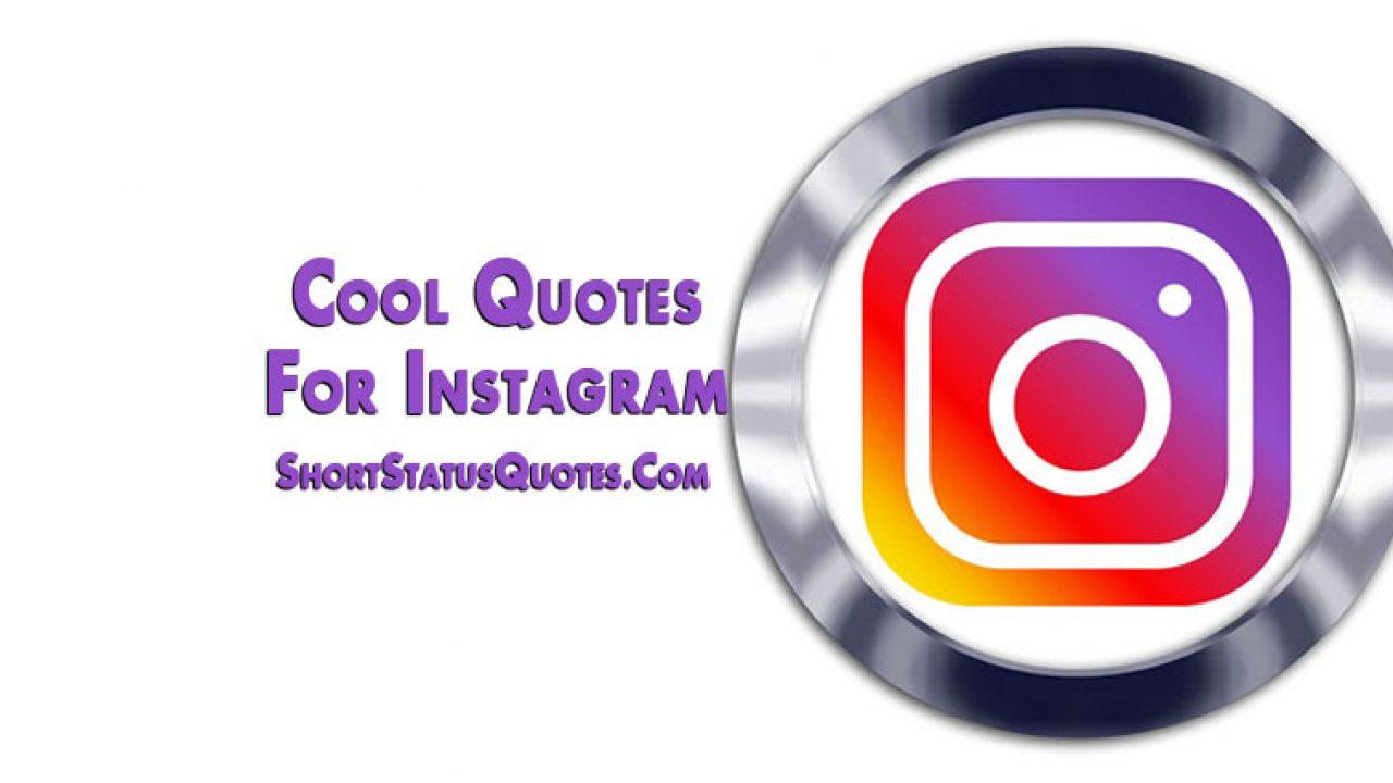 cool quotes for instagram captions profile bio