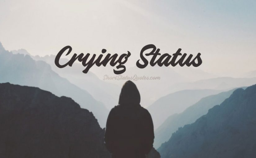 Crying Status Sad Crying Quotes Emotional Crying Messages