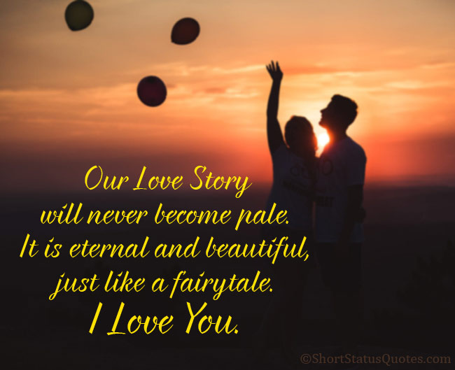 Romantic Love Status In English