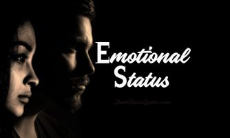 125+ Emotional Status, Captions & Heart Touching Emotional Quotes