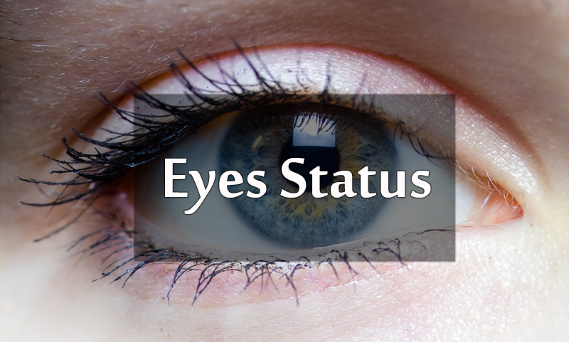 Eyes Status, Short Eyes Quotes - Sayings On Beautiful Eyes