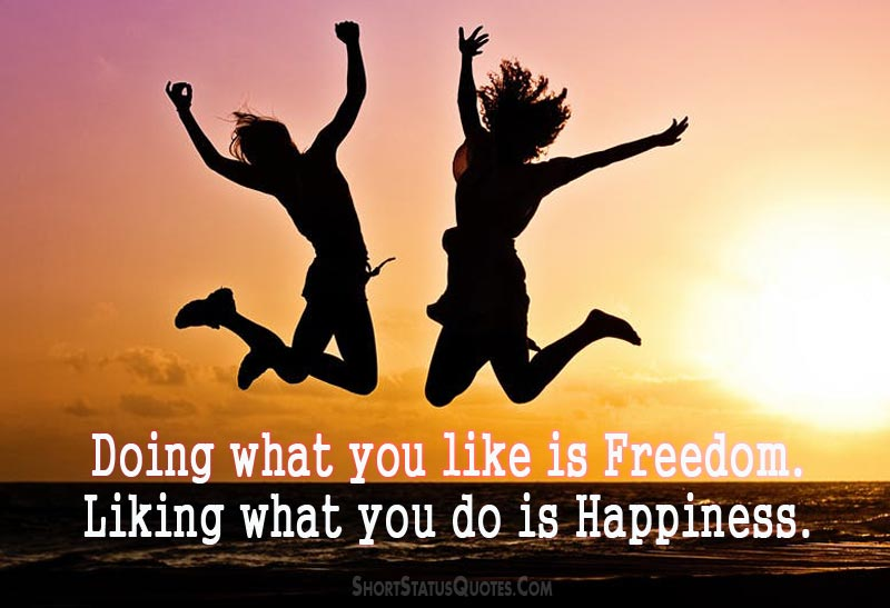 Image of: Feelinghappystatusforwhatsappfacebook Short Status Quotes Feeling Happy Status Captions Be Happy Messages