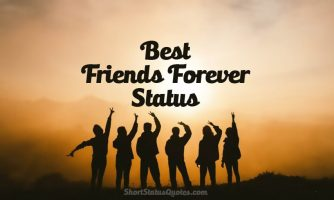 Friends Forever Status, Captions & Quotes About BFF