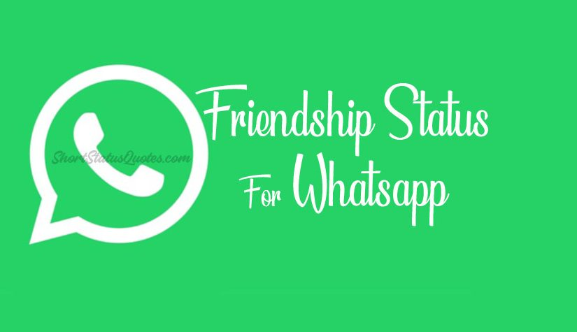 Friendship Status For Whatsapp Cute Funny Best Status Lines