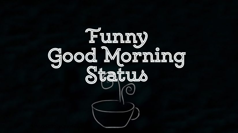 Funny Good Morning Status & Captions - Funny Morning Texts