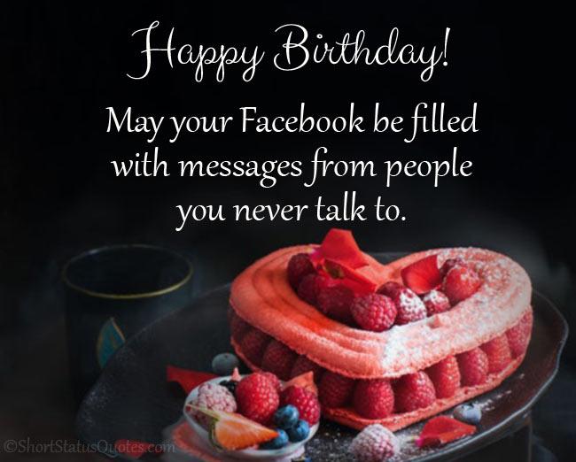Hilarious Birthday Wishes Status