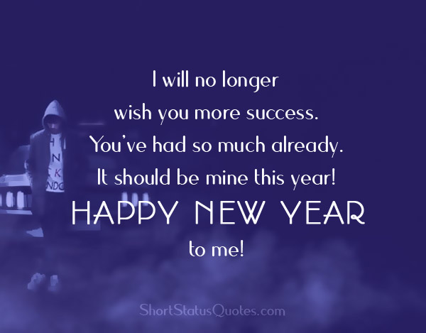 funny new year status images