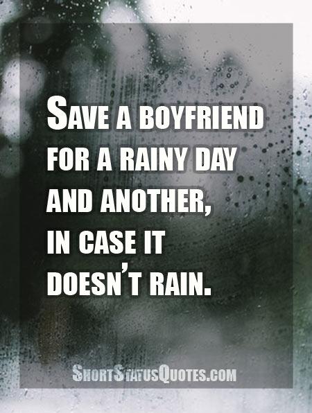 Funny Rain Status